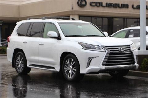 New 2019 Lexus LX 570 TWO-ROW 570